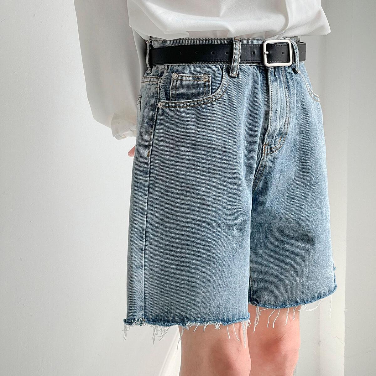 Шорты DAZO Studio Denim Shorts Raw Material (6)