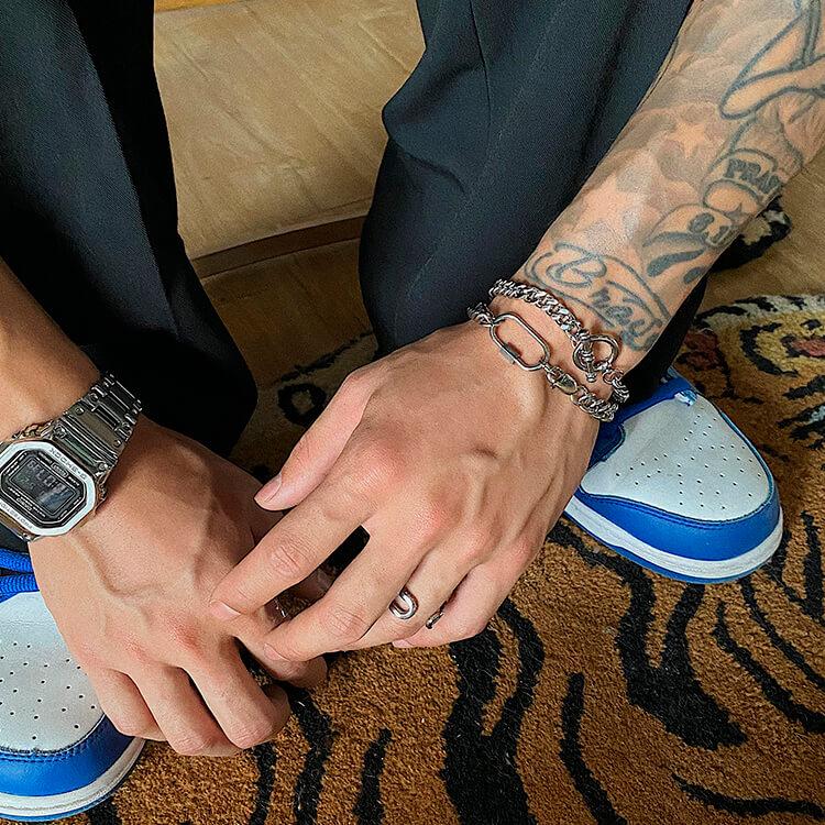 Браслеты SAZ Studio Carabiner Bracelet & Ring Bracelet (1)