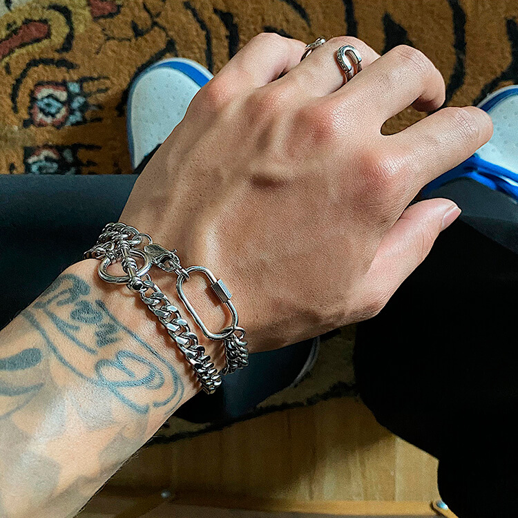 Браслеты SAZ Studio Carabiner Bracelet & Ring Bracelet (3)