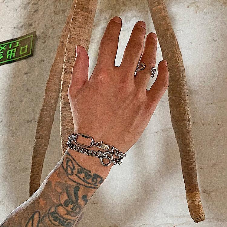 Браслеты SAZ Studio Carabiner Bracelet & Ring Bracelet (4)