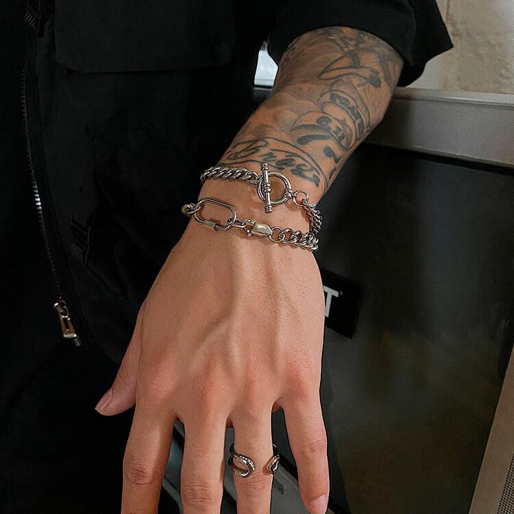Браслеты SAZ Studio Carabiner Bracelet & Ring Bracelet (6)