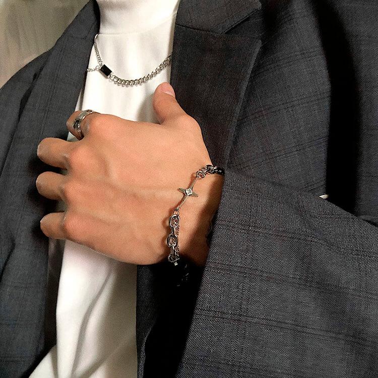 Браслет SAZ Studio Combination Bracelet With Plate (1)