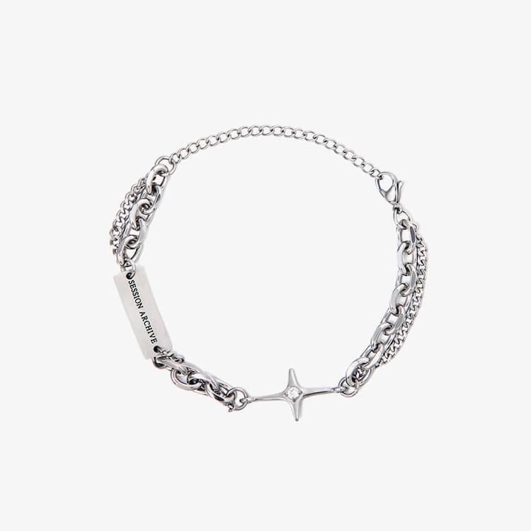 Браслет SAZ Studio Combination Bracelet With Plate (11)