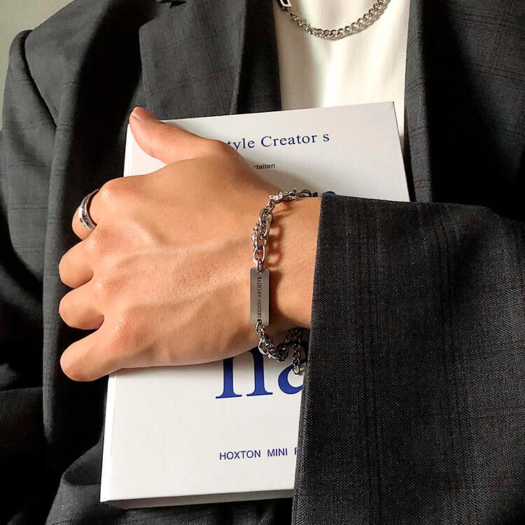 Браслет SAZ Studio Combination Bracelet With Plate (2)