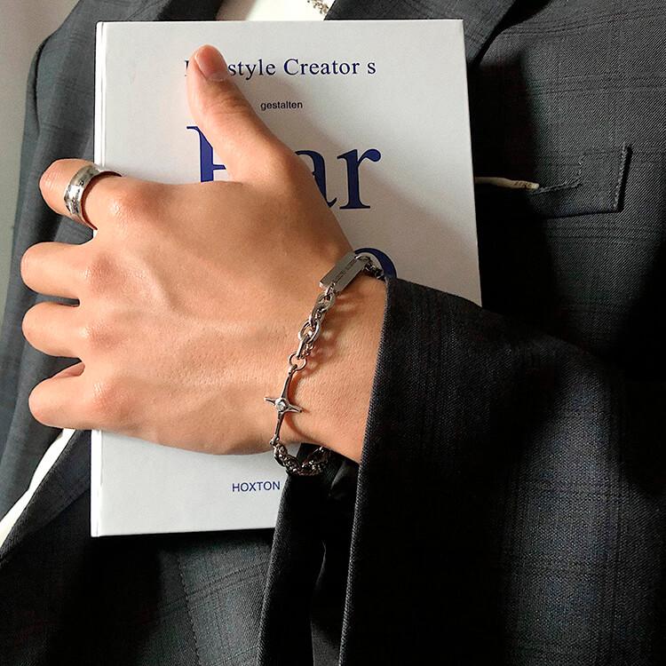Браслет SAZ Studio Combination Bracelet With Plate (6)