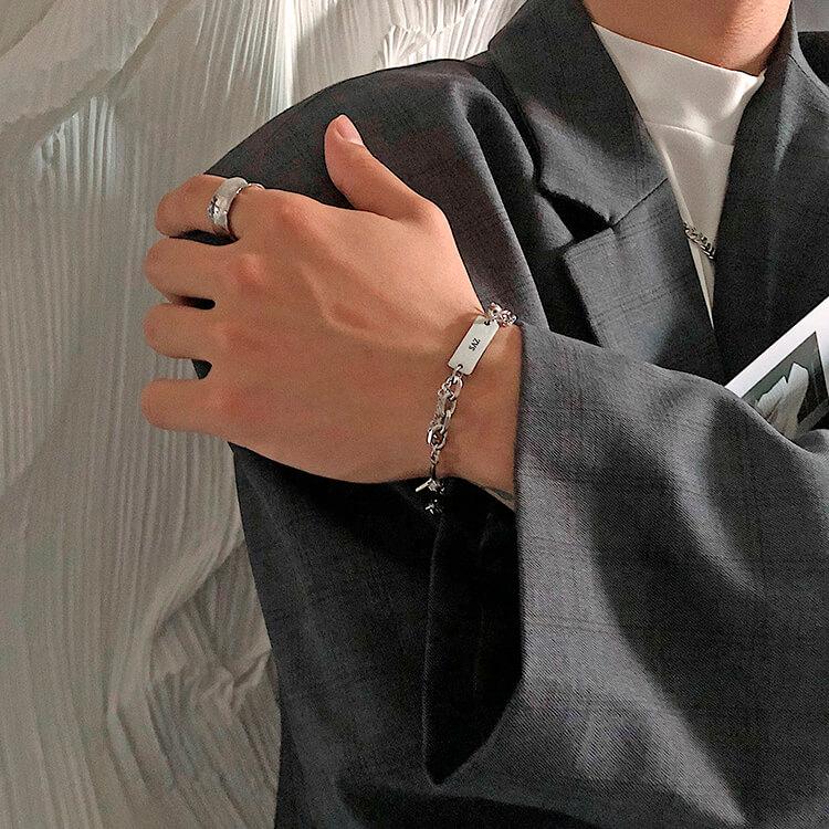 Браслет SAZ Studio Combination Bracelet With Plate (7)