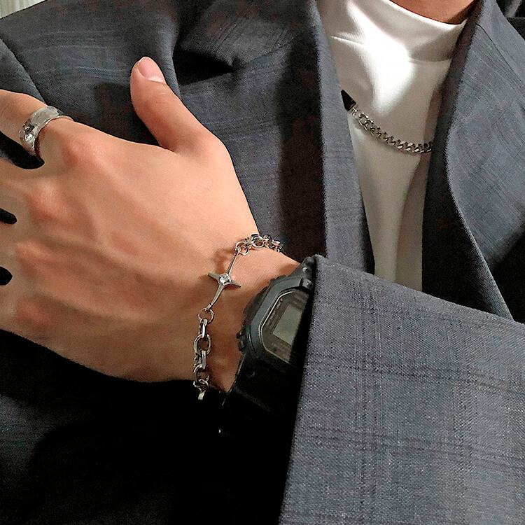 Браслет SAZ Studio Combination Bracelet With Plate (8)