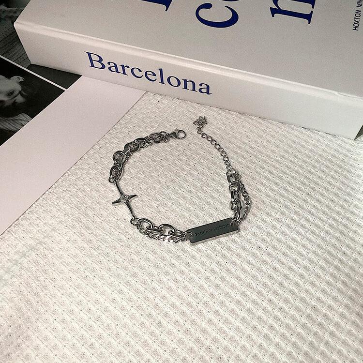 Браслет SAZ Studio Combination Bracelet With Plate (9)