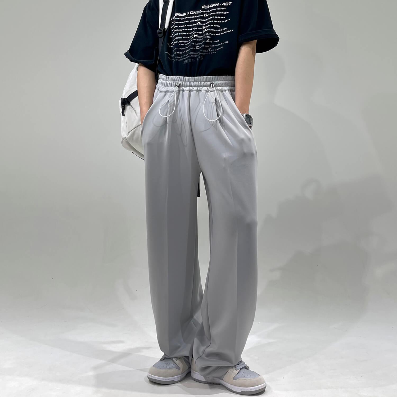 Брюки GB Studio Elastic Drawstring Loose Pants (1)