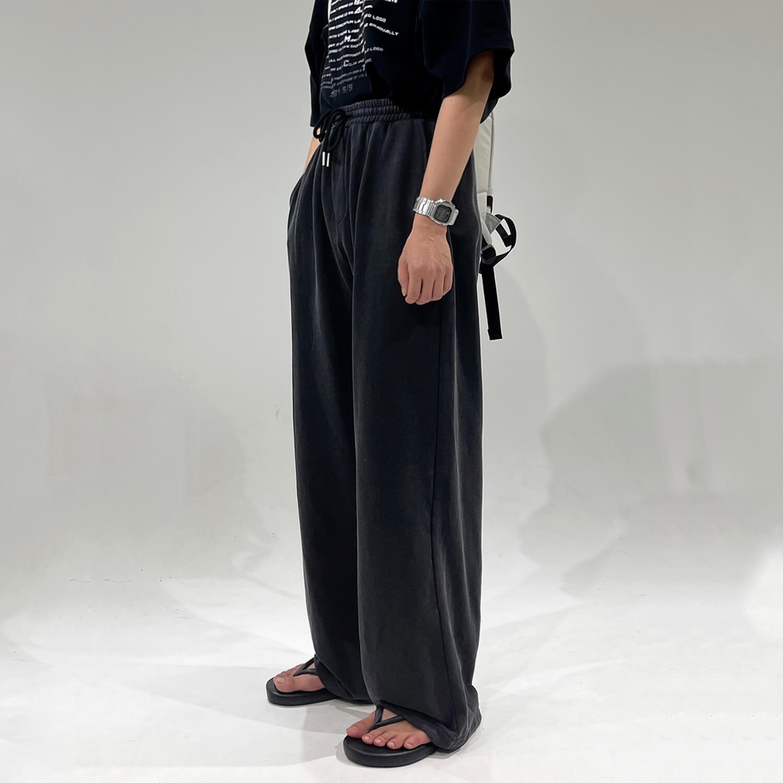 Брюки GB Studio Long Loose Pants Elastic Waist (1)