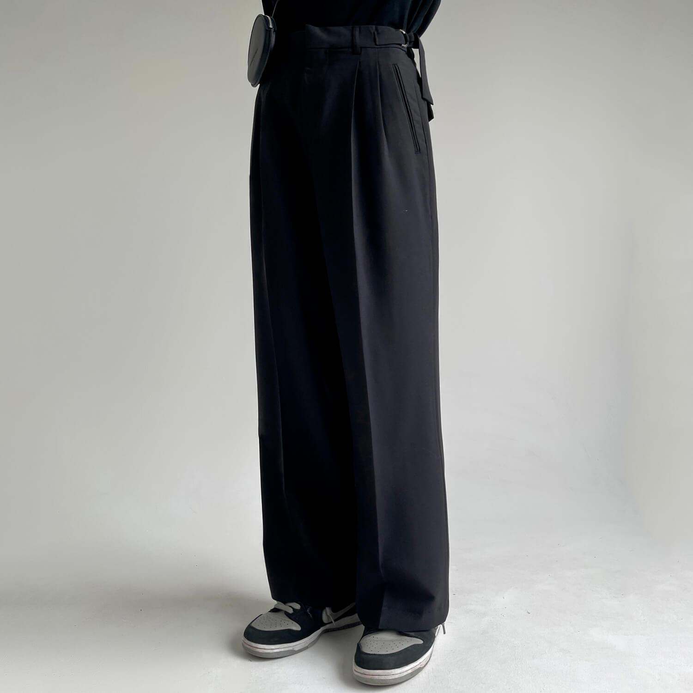 Брюки GB Studio Loose Pants Mini Belt (1)