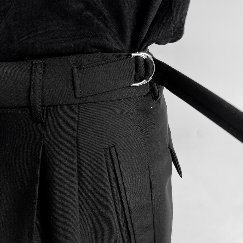 Брюки GB Studio Loose Pants Mini Belt (4)