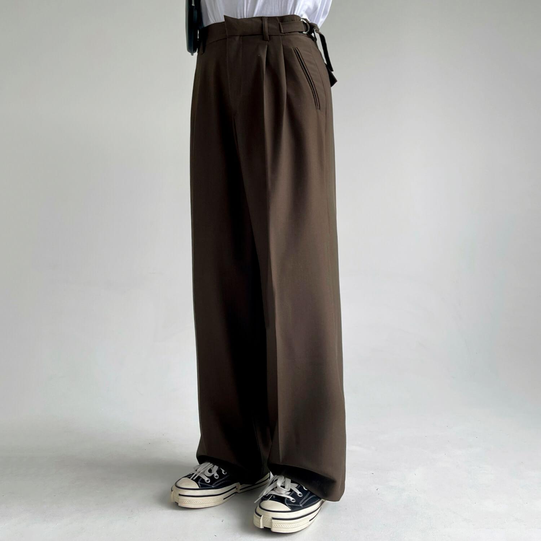 Брюки GB Studio Loose Pants Mini Belt (5)