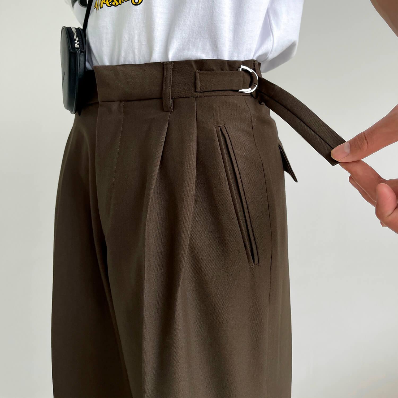 Брюки GB Studio Loose Pants Mini Belt (7)