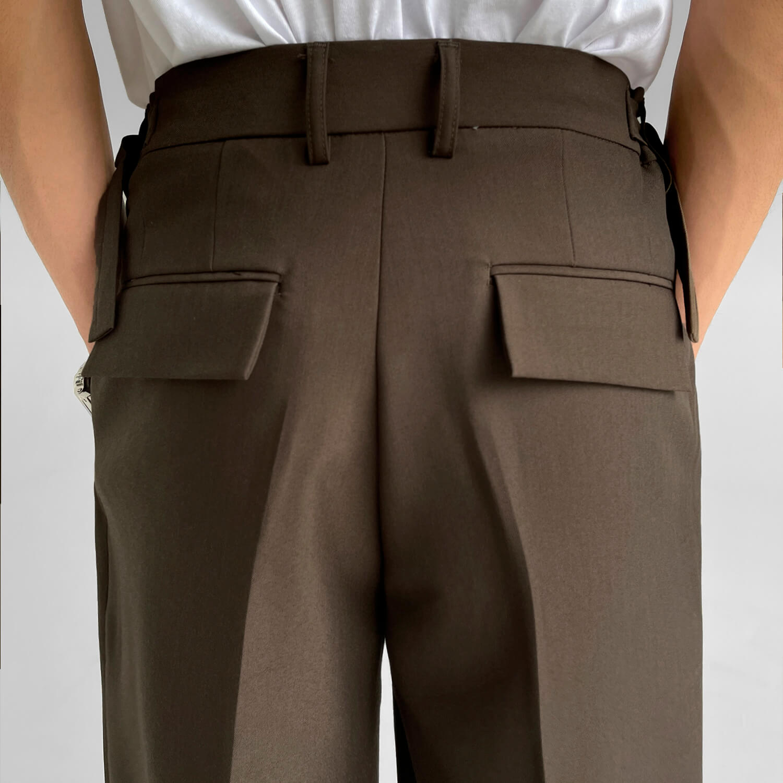 Брюки GB Studio Loose Pants Mini Belt (8)