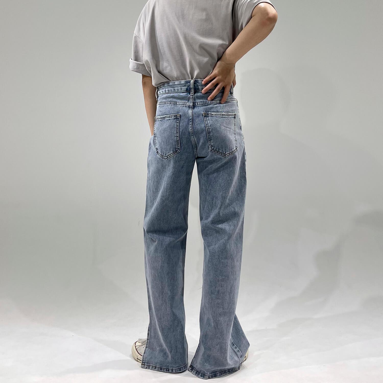 Джинсы GB Studio Jeans Flare Split Beveled Waist (2)