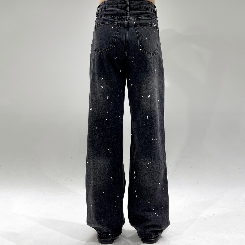 Джинсы GB Studio Paint Splash Straight Jeans (2)
