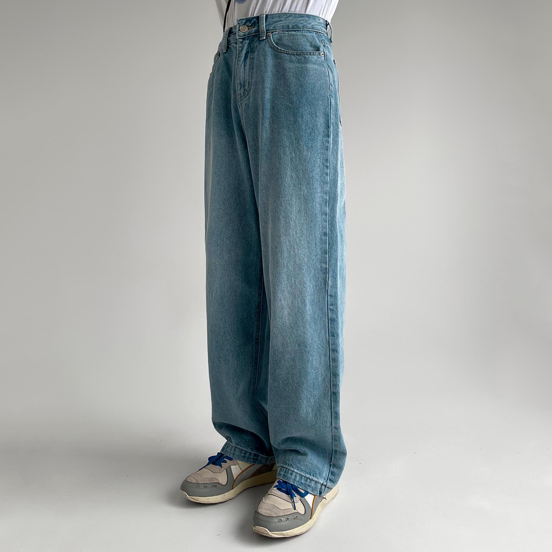Джинсы GB Studio Straight Jeans Back Belt (1)