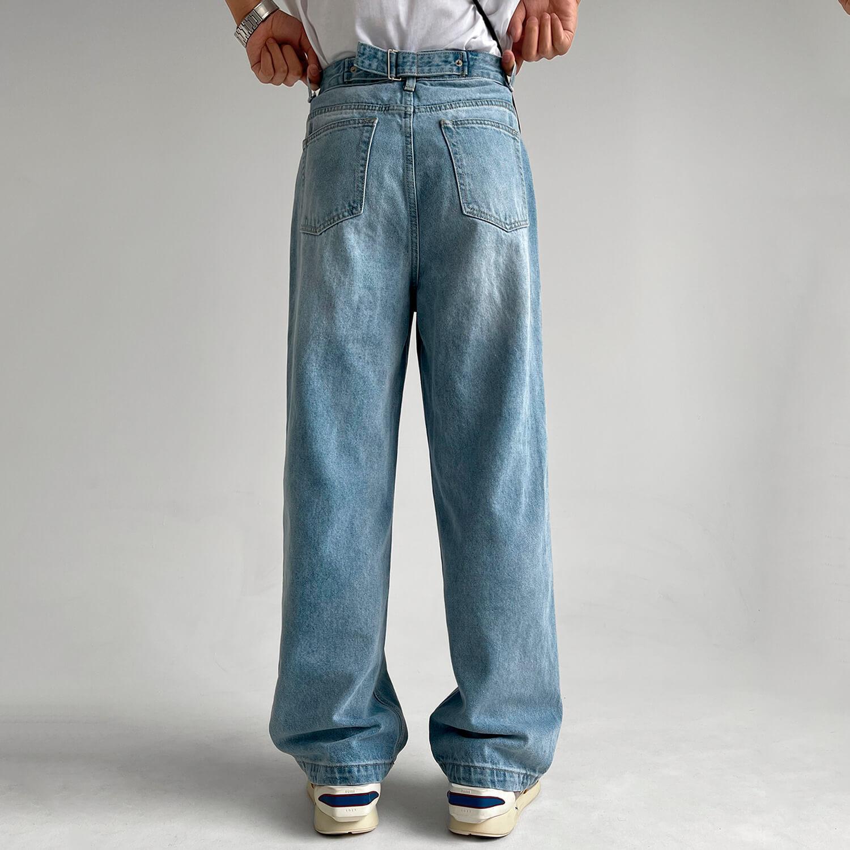 Джинсы GB Studio Straight Jeans Back Belt (2)