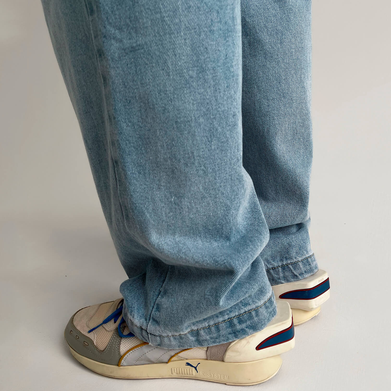 Джинсы GB Studio Straight Jeans Back Belt (5)