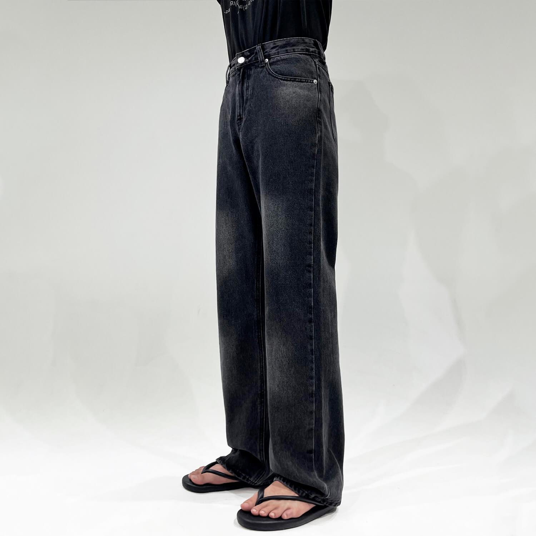 Джинсы GB Studio Washed Imitation Straight Jeans (1)