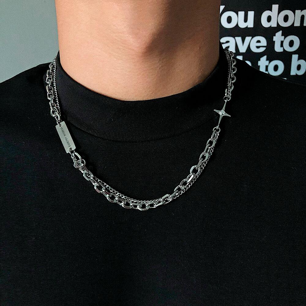 Колье SAZ Studio Combination Necklace With Plate (1)