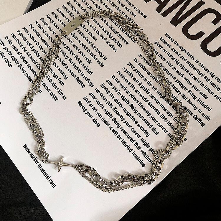 Колье SAZ Studio Combination Necklace With Plate (6)