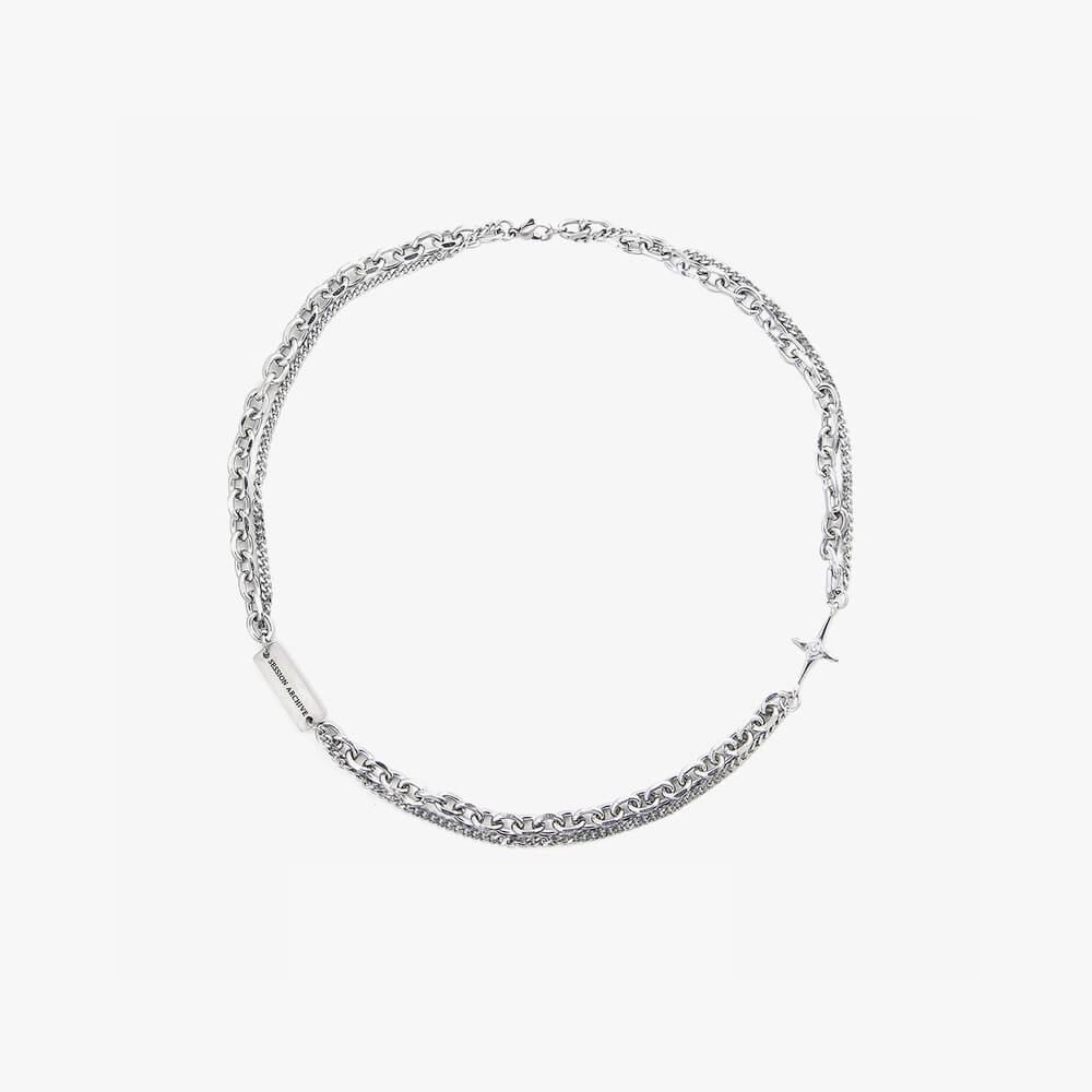 Колье SAZ Studio Combination Necklace With Plate (8)