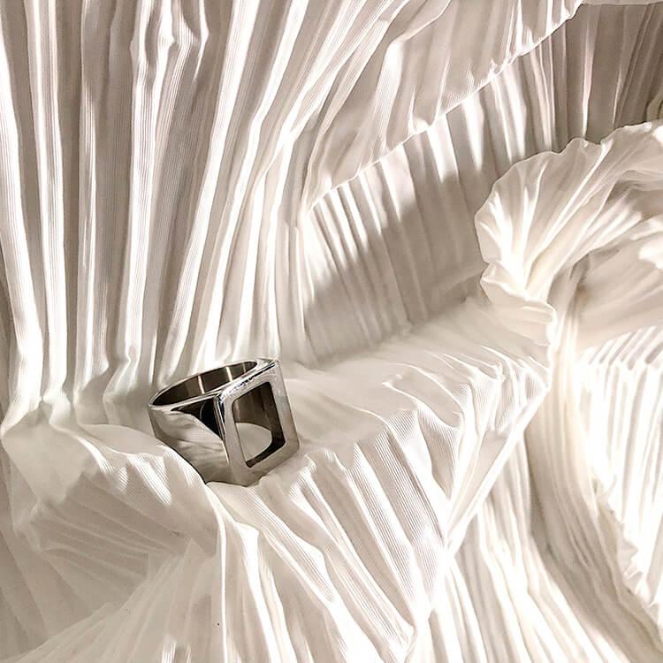 Кольцо SAZ Studio Ring Carved Center (4)