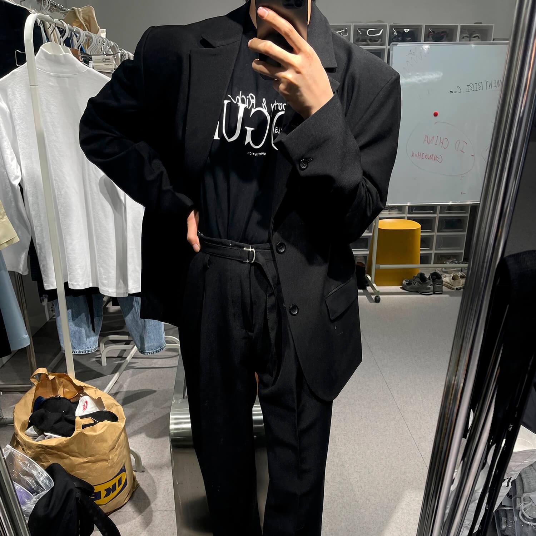 Костюм GB Studio Thin Belts Suit Blazer & Pants (1)