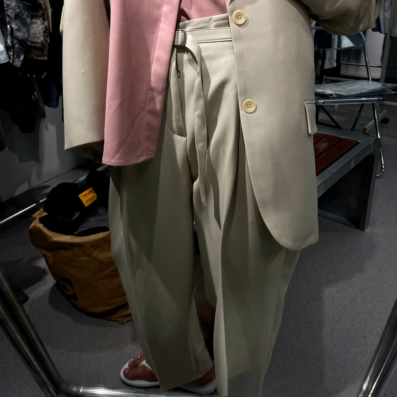Костюм GB Studio Thin Belts Suit Blazer & Pants (10)