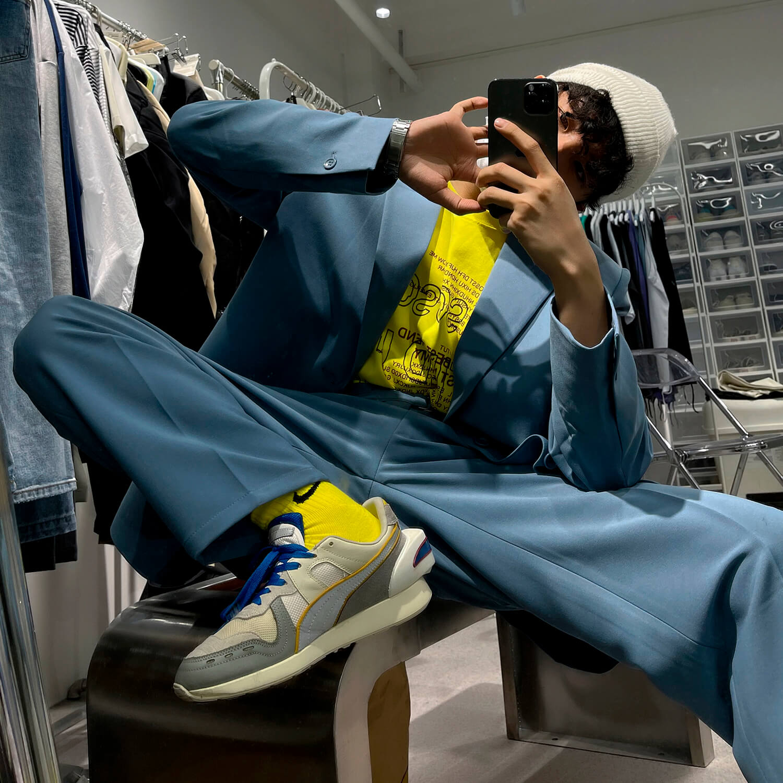 Костюм GB Studio Thin Belts Suit Blazer & Pants (11)