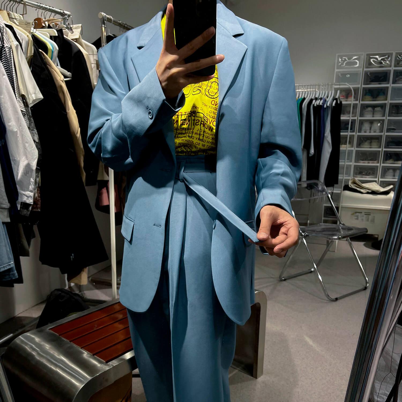 Костюм GB Studio Thin Belts Suit Blazer & Pants (12)