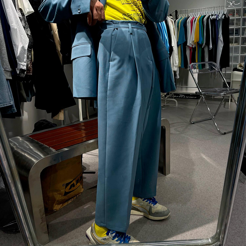 Костюм GB Studio Thin Belts Suit Blazer & Pants (13)
