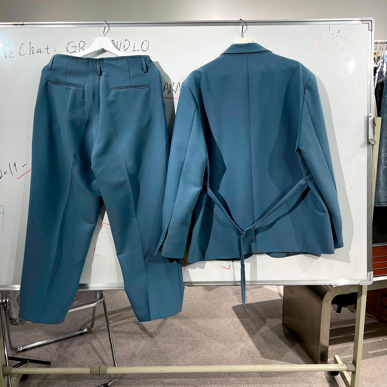 Костюм GB Studio Thin Belts Suit Blazer & Pants (15)