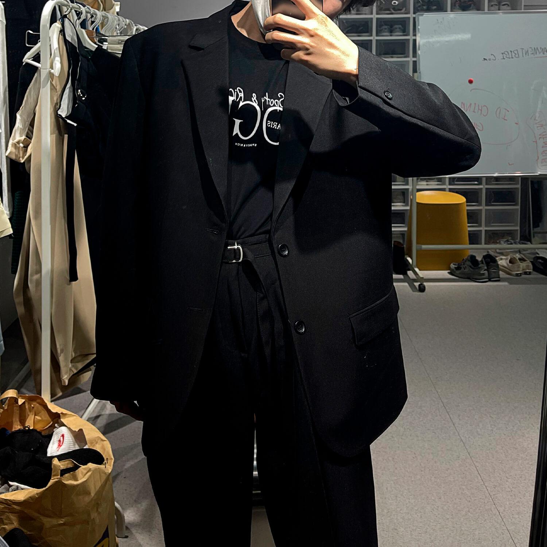 Костюм GB Studio Thin Belts Suit Blazer & Pants (2)