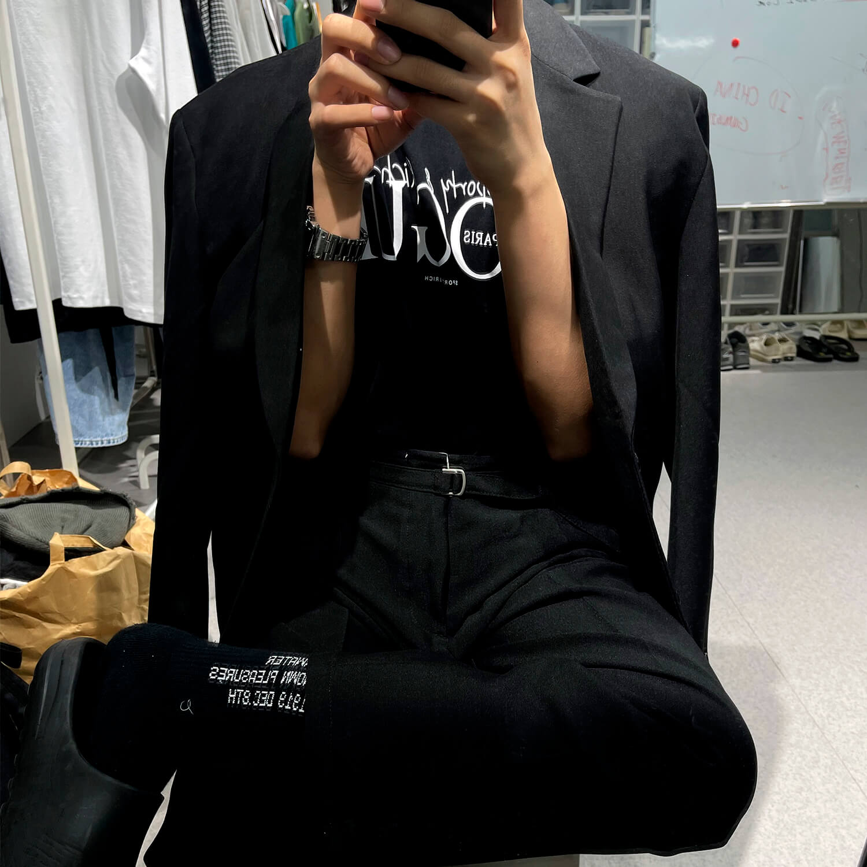 Костюм GB Studio Thin Belts Suit Blazer & Pants (3)