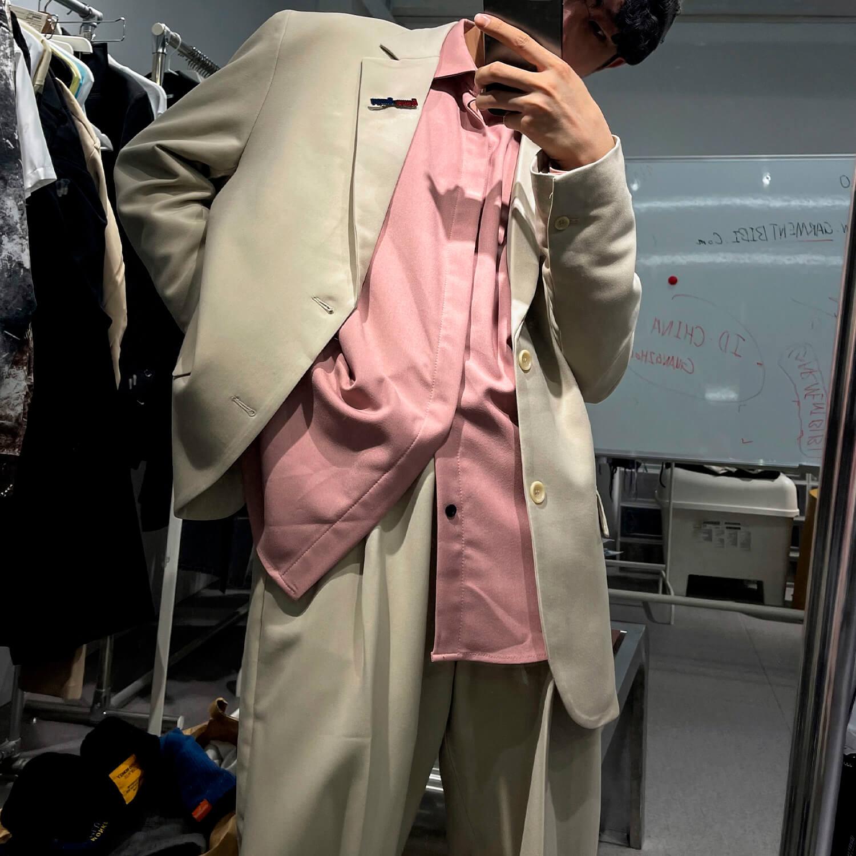 Костюм GB Studio Thin Belts Suit Blazer & Pants (6)