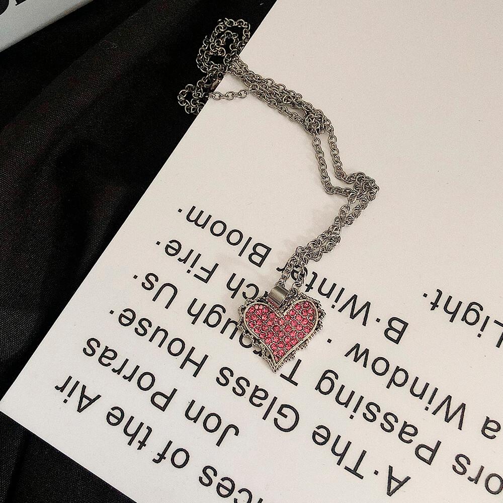 Подвеска SAZ Studio Pendant Inlaid Heart (3)