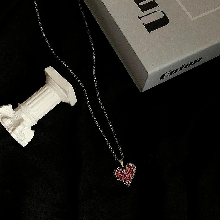 Подвеска SAZ Studio Pendant Inlaid Heart (5)