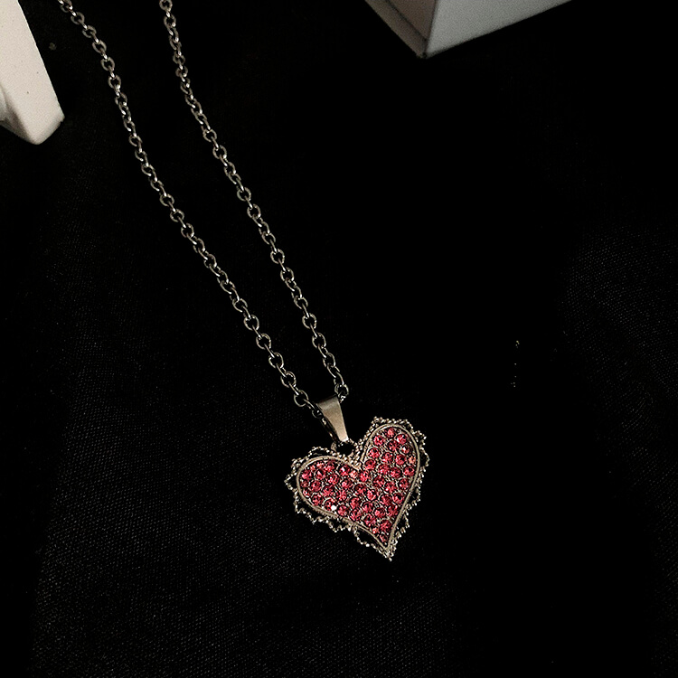 Подвеска SAZ Studio Pendant Inlaid Heart (6)