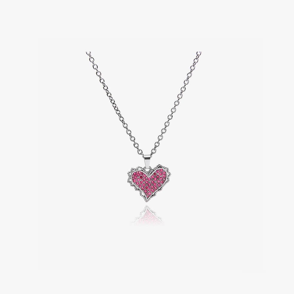 Подвеска SAZ Studio Pendant Inlaid Heart (7)