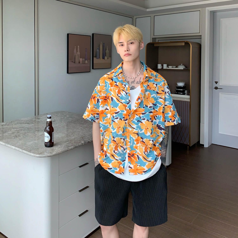 Рубашка Cui Layout Studio Rich Floral Shirt (4)