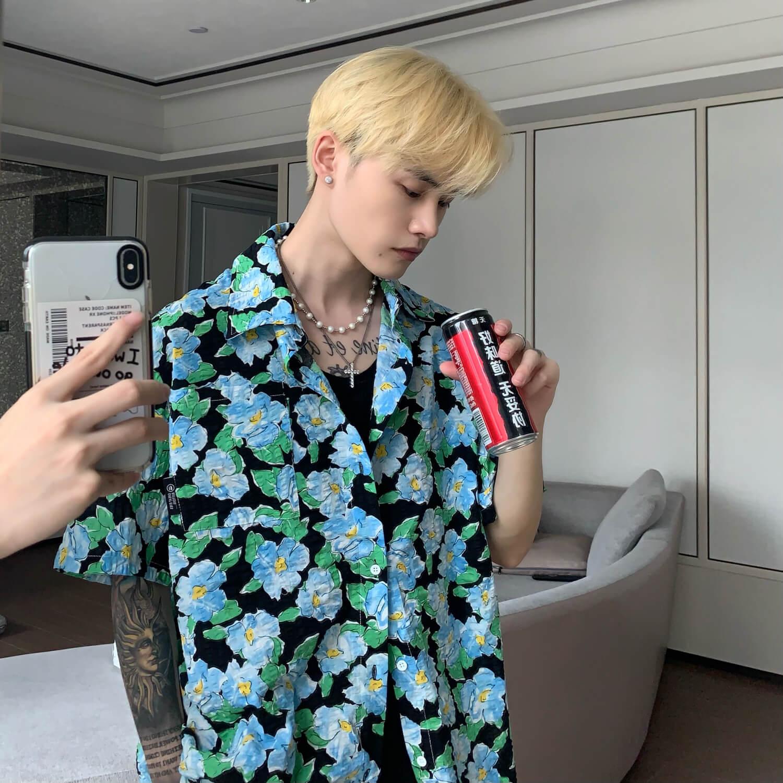 Рубашка Cui Layout Studio Rich Floral Shirt (7)