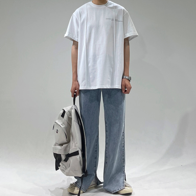 Футболка GB Studio Oversized T-shirt Linear Design (1)