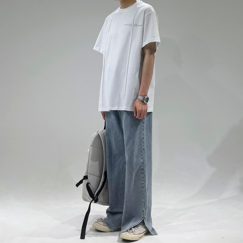 Футболка GB Studio Oversized T-shirt Linear Design (2)