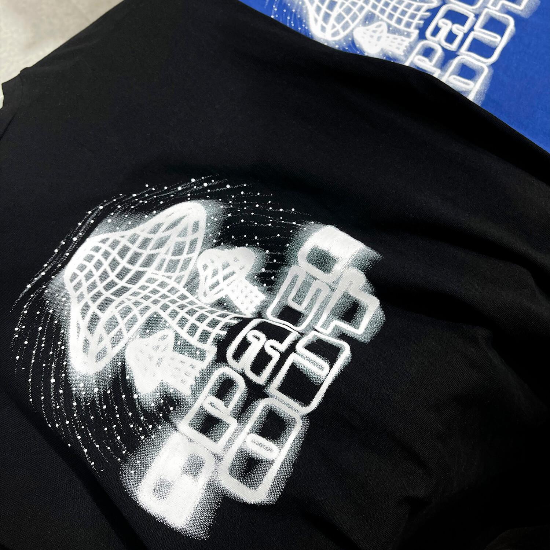 Футболка GB Studio Space Out T-shirt Spray Reflective Print (1)