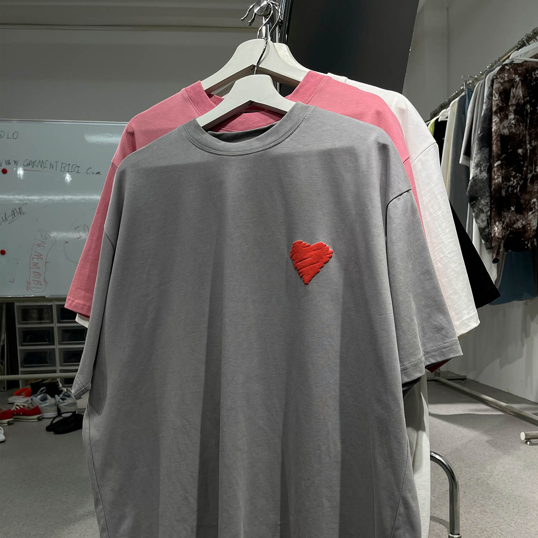Футболка GB Studio T-shirt Heart Patch (1)