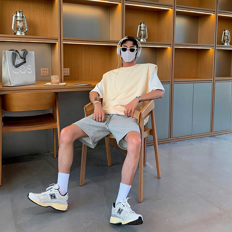 Шорты Attitude Studio Cotton Shorts Universal Tones (17)