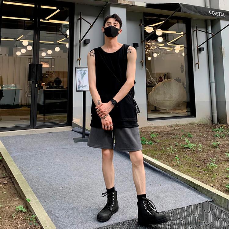 Шорты Attitude Studio Cotton Shorts Universal Tones (27)